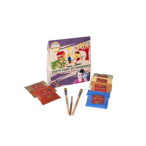 Natural Earth Paint Natural Earth Paint Kit Discovery voor 2 liter natuurlijke kinderverf - Copy