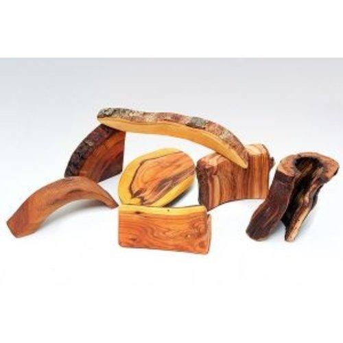 Predan Predan Natuurlijke houtblokken