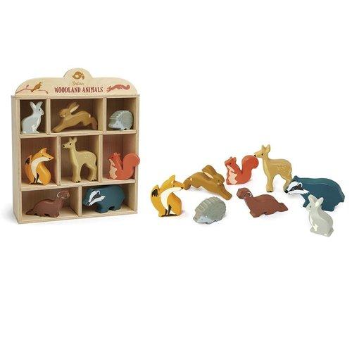 Hout & Plezier Tender Leaf Toys Set Bosdieren