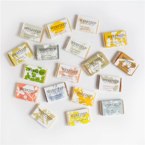 Hout & Plezier Werfzeep 18 verschillende zeepjes