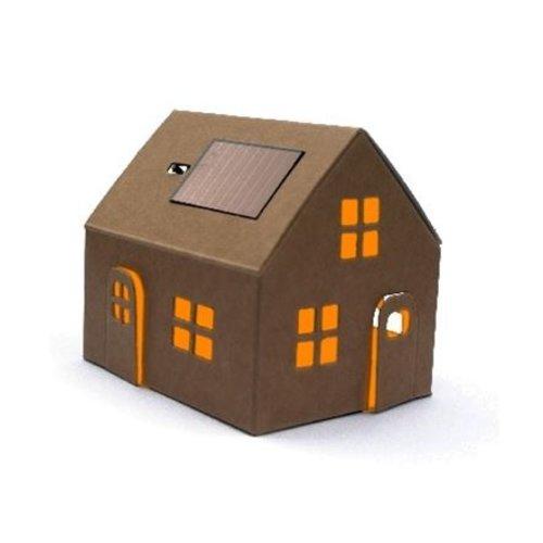 Sol-expert Bouwpakket – Casagami huisje met zonnepaneel
