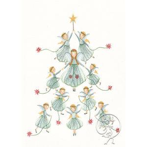 Bijdehansje Kaartjes Bijdehansje Kerst Engelen
