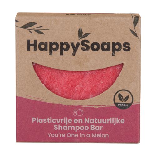 Happysoaps HappySoaps Shampoo Bar - You're one in a Melon