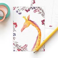 Studiodraak - Natuurlijke liefde - Giraffe