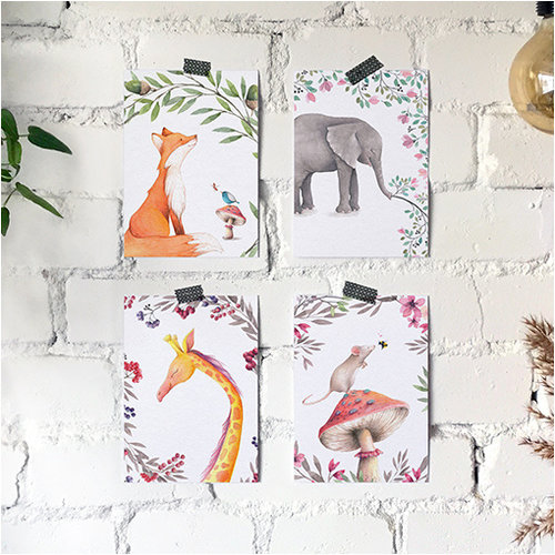 Studiodraak Studiodraak - Natuurlijke liefde - Giraffe
