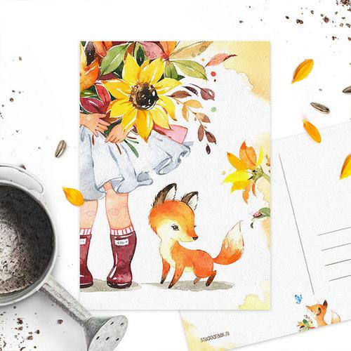 Studiodraak Studiodraak - Flower vosje - Lieveheersbeestje