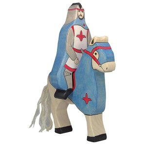 Holztiger Holztiger Ridder met paard