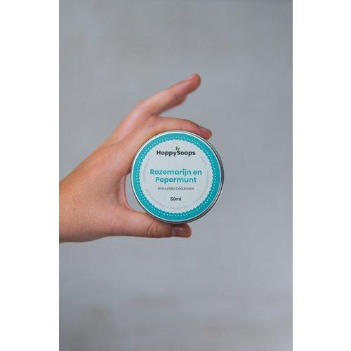 Happysoaps HappySoaps Natuurlijke Deodorant – Rozemarijn en Pepermunt