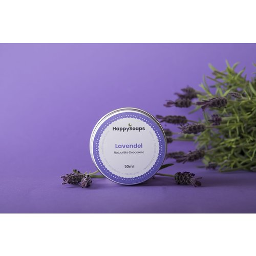 Happysoaps HappySoaps Natuurlijke Deodorant – Lavendel