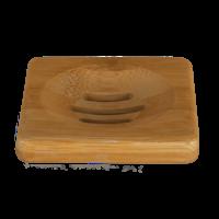 HappySoaps - Zeep Houder van Bamboe voor één Shampoo Bar