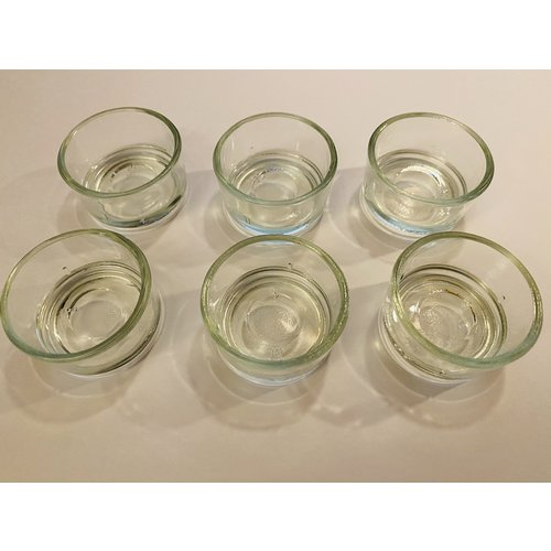 Hout & Plezier Dipam theelichthouder glas