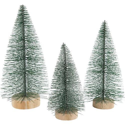 Hout & Plezier 3 Kerstbomen