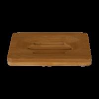HappySoaps - Zeephouder van Bamboe voor twee Shampoo Bars of Zeep