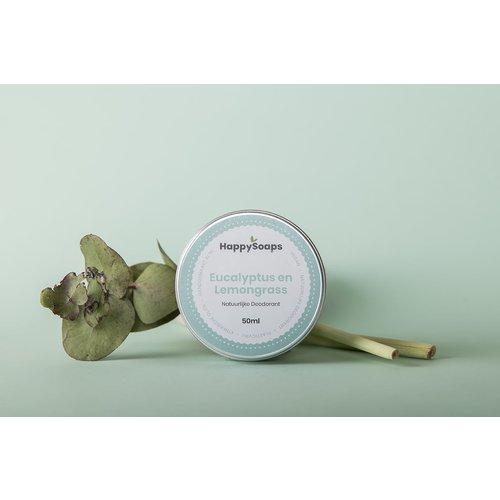 Happysoaps HappySoaps Natuurlijke Deodorant – Eucalyptus en lemongrass