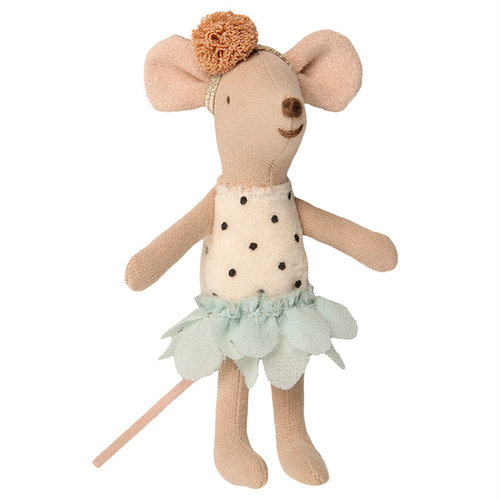 Maileg Maileg Little Miss Mouse in koffertje