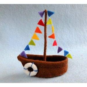Atelier Pippilotta  Atelier Pippilotta Sinterklaasbootje
