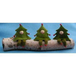 Atelier Pippilotta  Atelier Pippilotta Drie Kerstboomboefjes