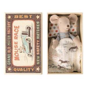 Maileg Maileg klein broertje muis in doosje