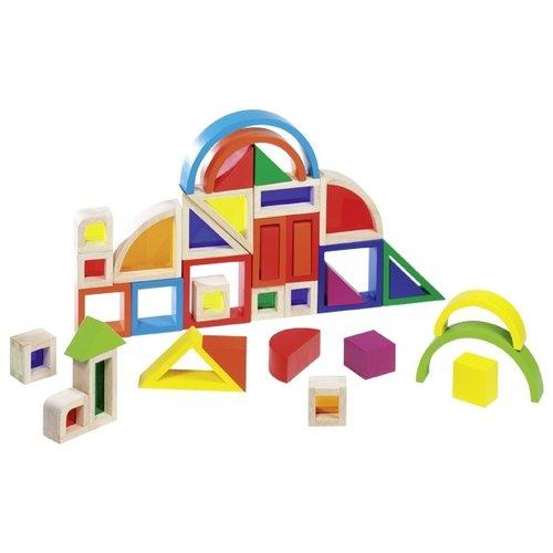 Goki Goki Bouwset regenboog met gekleurde vensters