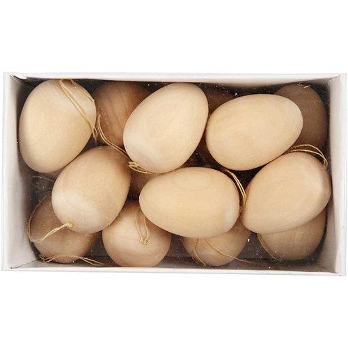 Hout & Plezier Houten (paas)eieren