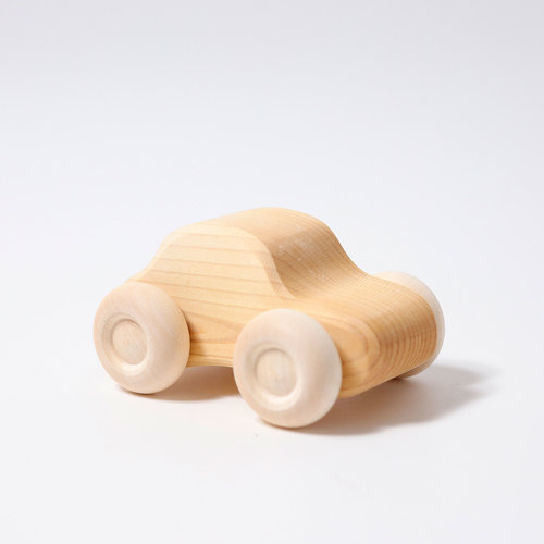 Grimms Grimms Set houten auto's naturel - 6 stuks