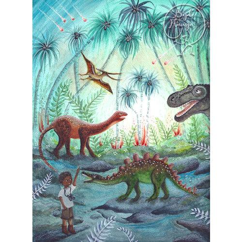 Bijdehansje Kaartjes Bijdehansje Dino's