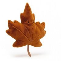 Jellycat Woodland Maple Leaf - Herfstblad