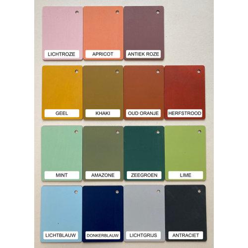 Houtlokael Naamlamp Tipi (kleur naar keuze)
