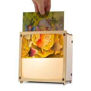 Houtlokael Wissellamp