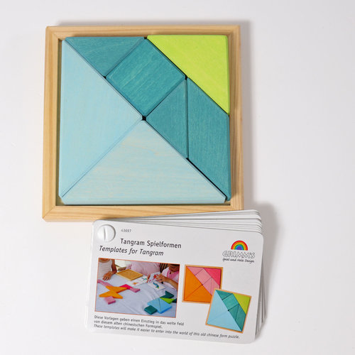 Grimms Grimms Tangram Turquoise