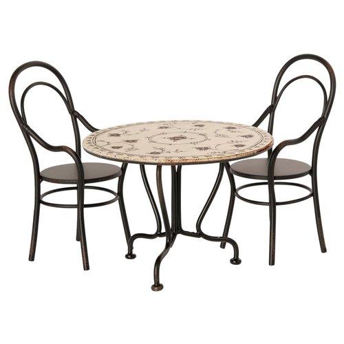 Maileg Maileg diner tafel set met stoelen