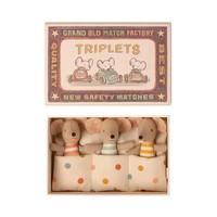 Maileg drieling baby muisjes in doosje
