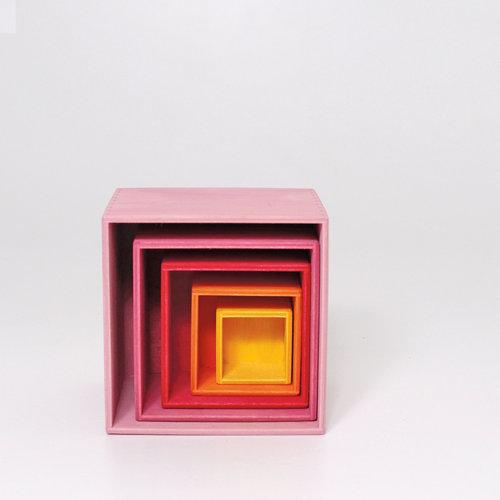 Grimms Grimms Houten Boxen Set Lollipop