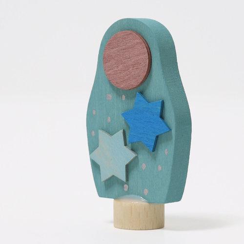 Grimms Grimms Steker Matroesjka met sterren