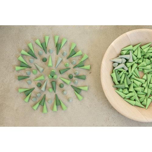 Grapat Grapat Loose Parts Mega Set 2021 - 14 mandala sets (+Tinker Tray) - Copy