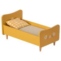 Maileg Houten Bed - Konijn - Geel