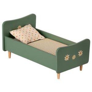 Maileg Maileg Houten Bed - Konijn - Groen