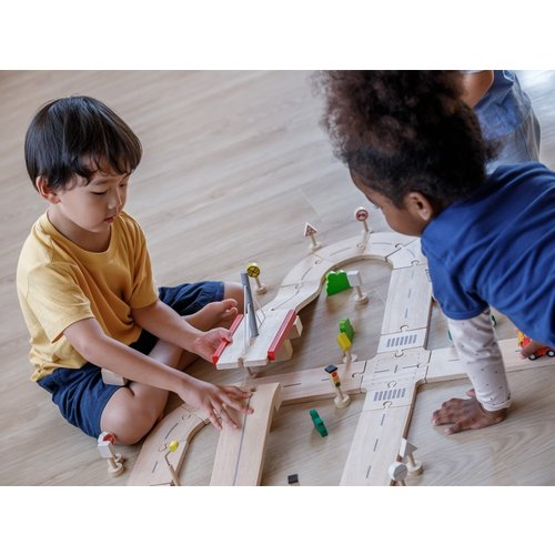 Plan Toys Plan Toys Wegen Bouwset