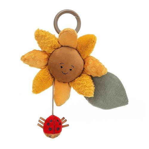 Jellycat Knuffels Jellycat Fleury Sunflower - Fleurige Zonnebloem