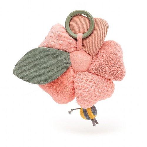 Jellycat Knuffels Jellycat Fleury Petunia Activity Toy - Fleurige Petunia
