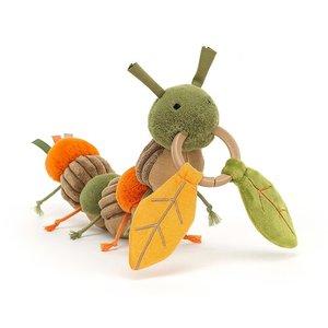 Jellycat Knuffels Jellycat Christopher Caterpillar Activity Toy