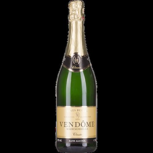 Vendome Mademoiselle - Alcoholvrije witte mousserende wijn