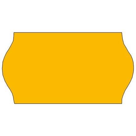 Tovel Tovel Prijsetiketten fluor oranje 22x12mm (42x1500 stuks)
