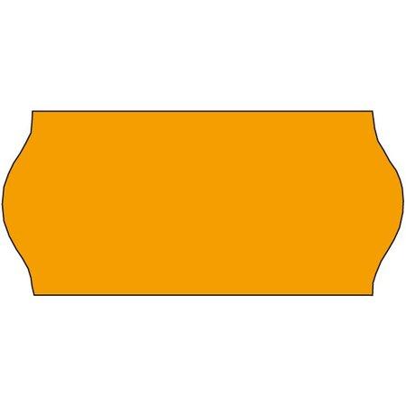 Tovel Tovel Prijsetiketten fluor oranje 26x12mm  (36x1500 stuks)