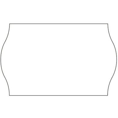 Tovel Prijsetiketten wit 26x16mm (36x1200 stuks)