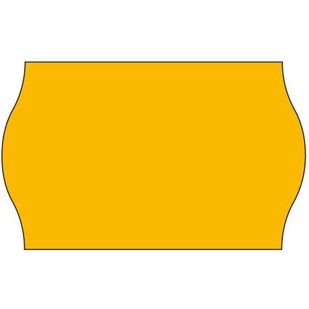 Tovel Tovel Prijsetiketten fluor oranje 26x16mm (36x1200 stuks)