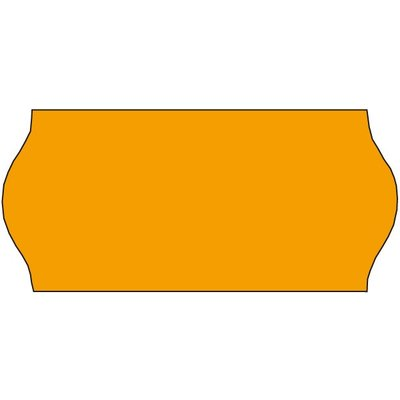 Sato Sato Prijsetiketten fluor oranje 26x12mm  (36x1500 stuks)