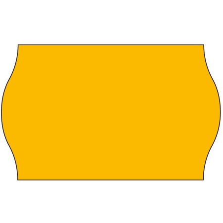 Blitz Blitz Prijsetiketten fluor oranje 26x16mm (36x1200 stuks)
