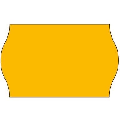 Sato Sato Prijsetiketten fluor oranje 26x16mm (36x1200 stuks)