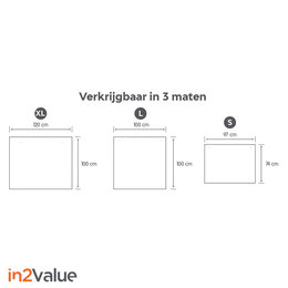 In2Value Preventiescherm met ophangsysteem
